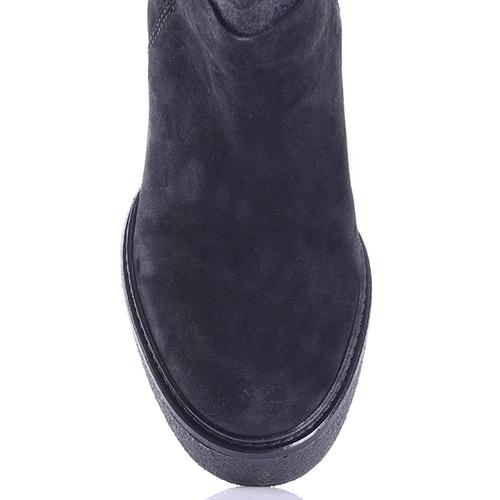 Черные ботильоны Vic Matie на высоком каблуке, фото
