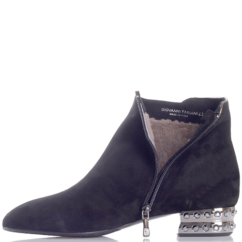 Ботинки Giovanni Fabiani на металлическом каблуке, фото