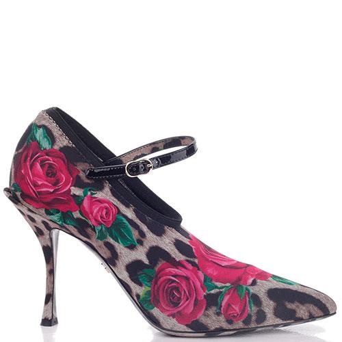 Закрытые туфли Dolce&Gabbana с ремешком, фото