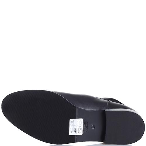 Сапоги Fru.It Now черного цвета на низком каблуке, фото