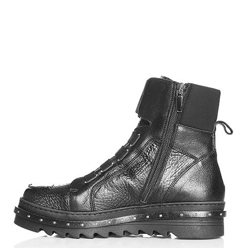 Ботинки Laura Bellariva с металлическим декором на носке, фото