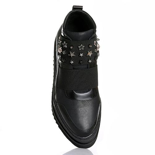 Ботинки Laura Bellariva с декором в виде звезд, фото