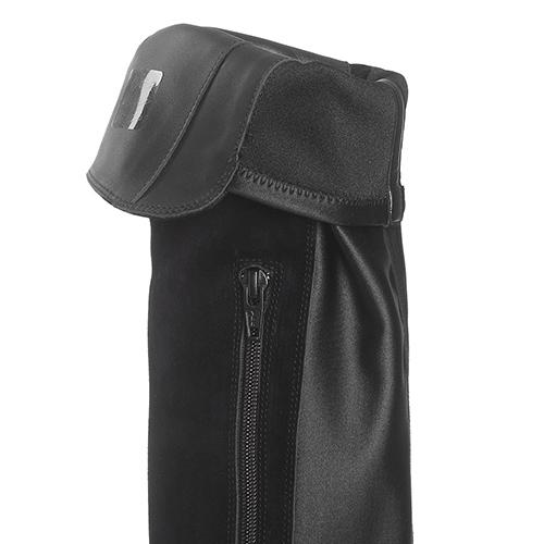 Черные сапоги Jeannot на толстой подошве, фото