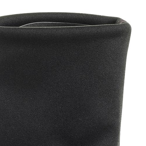 Ботфорты Strategia черного цвета на устойчивом каблуке, фото
