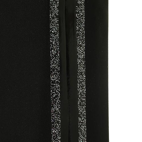Черные ботфорты Strategia с декоративными полосками, фото