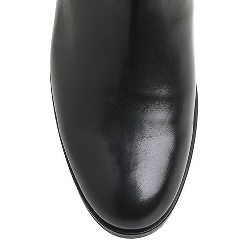 Черные сапоги Bervicato с декоративной пряжкой, фото