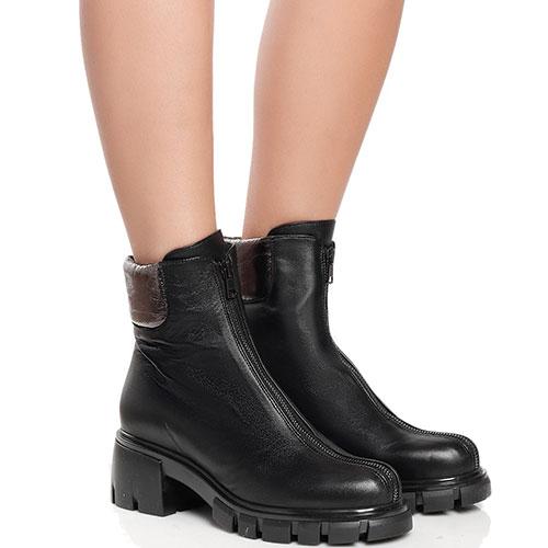 Черные ботинки Fru.It Now на молнии, фото