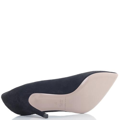 Черные туфли-лодочки Fabio Rusconi на шпильке, фото