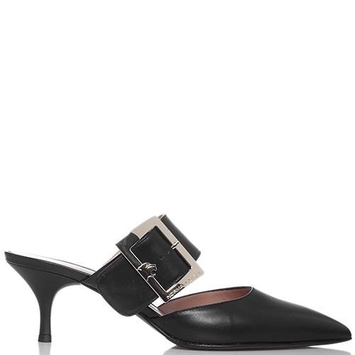 Черные мюли Norma J.Baker с острым носком, фото