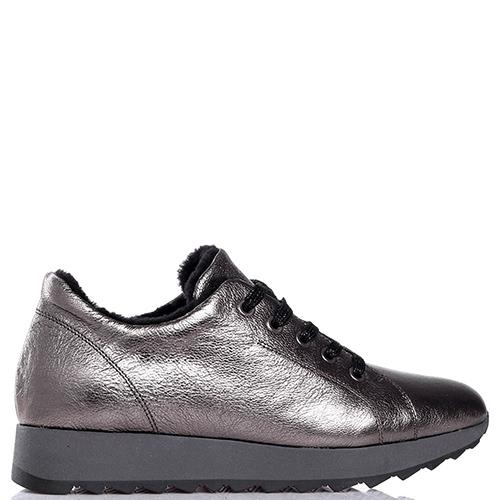 Утепленные кроссовки Tine's с подошвой серого цвета, фото