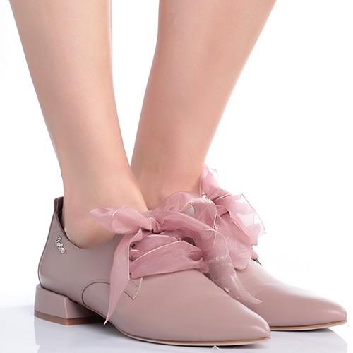 Туфли Genuin Vivier со шнурками-лентами, фото