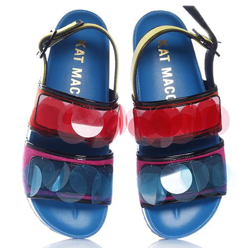 Цветные сандалии Kat Maconie на толстой подошве, фото