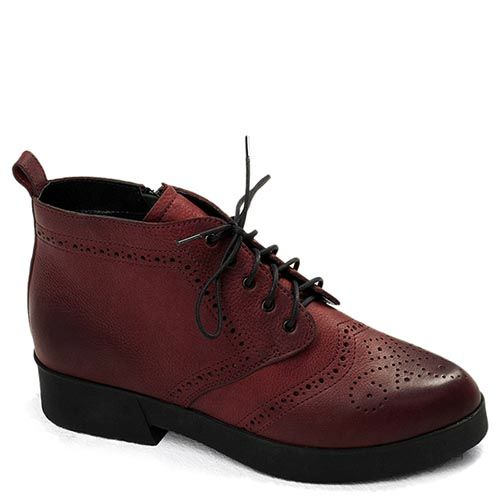 Женские ботинки Modus Vivendi коричневого цвета с низким каблуком, фото