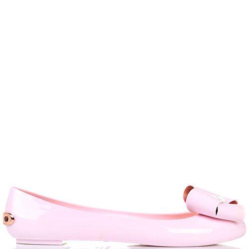 Балетки Ted Baker с бантом розового цвета, фото
