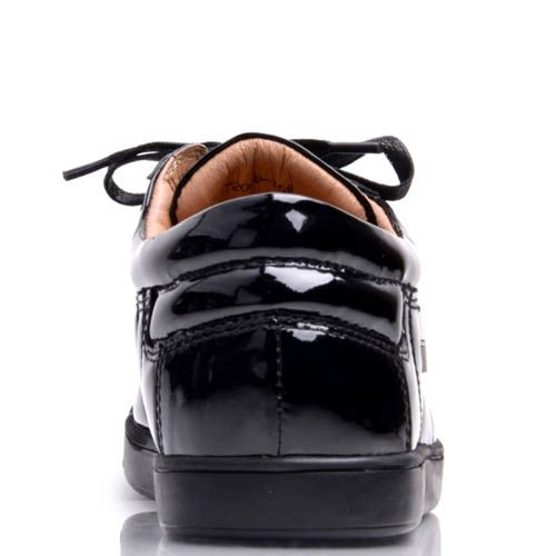 Кеды Prego черные лаковые, фото