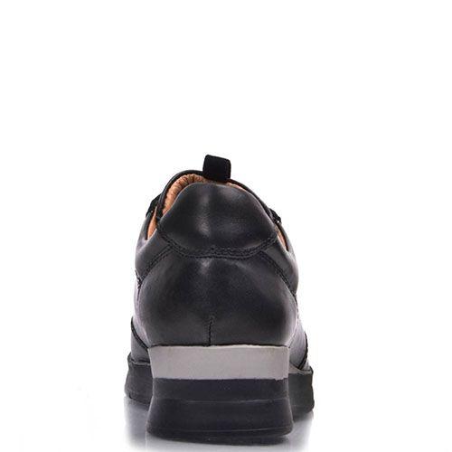 Кроссовки Prego из натуральной кожи со стразами, фото