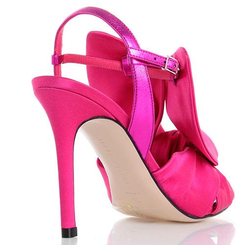 Босоножки на шпильке Minna Parikka розового цвета, фото
