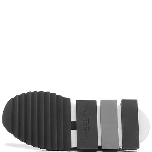 Черные кроссовки Dolce&Gabbana без шнуровки, фото