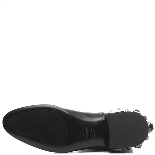 Ботинки-челси Dolce&Gabbana черного-цвета, фото