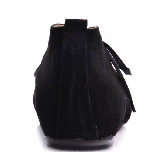 Туфли Prego женские на шнуровке из натуральной замши, фото