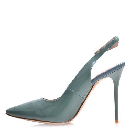 Туфли Prego на шпильке с открытой пяткой, фото