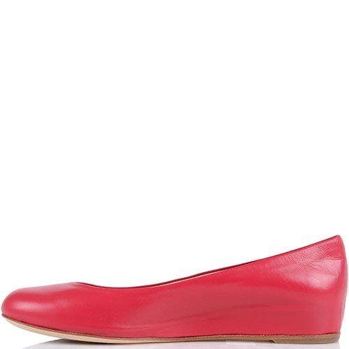 Кожаные туфли Giorgio Fabiani цвета фуксии, фото