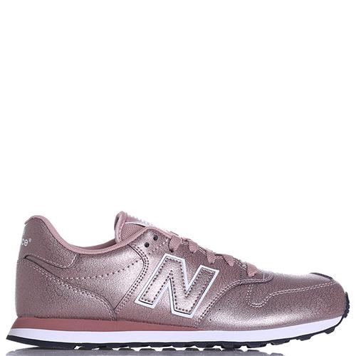 Кроссовки New Balance 500 розового цвета, фото