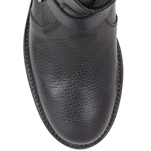Кожаные ботинки Richmond на толстой подошве с декором-стразами, фото