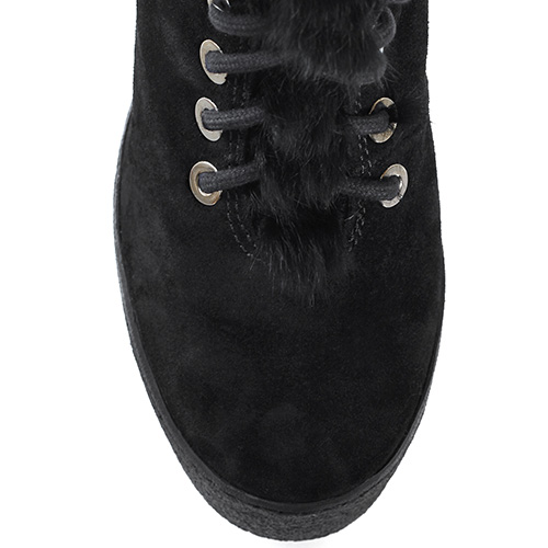 Зимние ботинки Vic Matie с меховой опушкой, фото