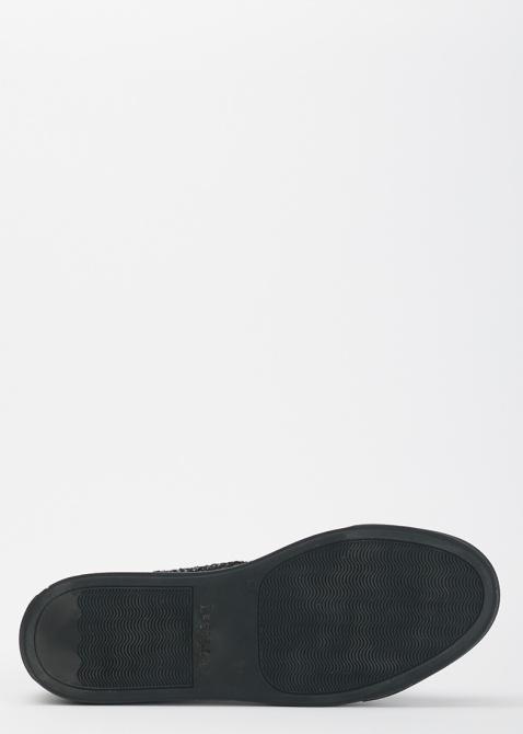 Высокие кеды  Le Silla из черного кружева, фото