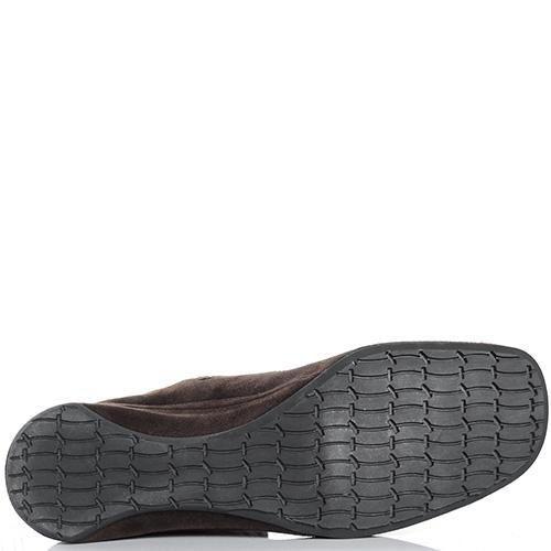 Замшевые ботинки Thierry Rabotin коричневого цвета, фото