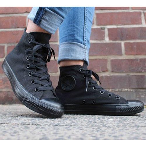 Высокие кеды Converse Chuck Taylor черного цвета, фото