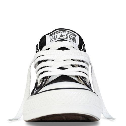 Черные кеды Converse Chuck Taylor с белой подошвой и шнуровкой, фото