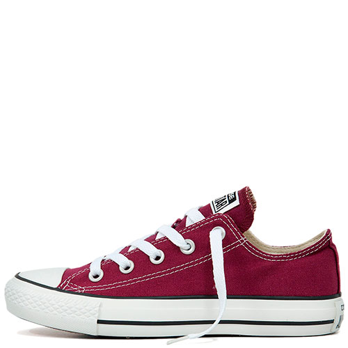 Кеды Converse All Star Ox Maroon бордовые, фото