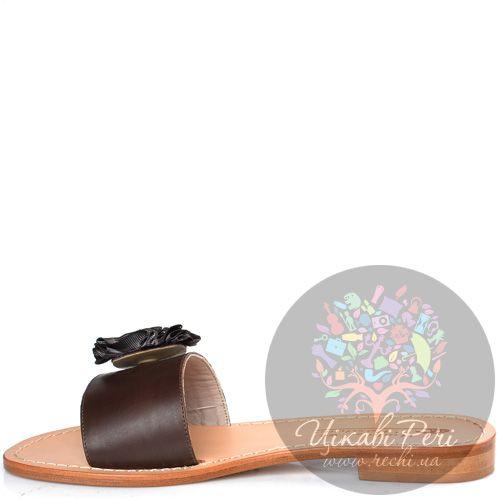 Сланцы Moda Positano Clara коричневые, фото