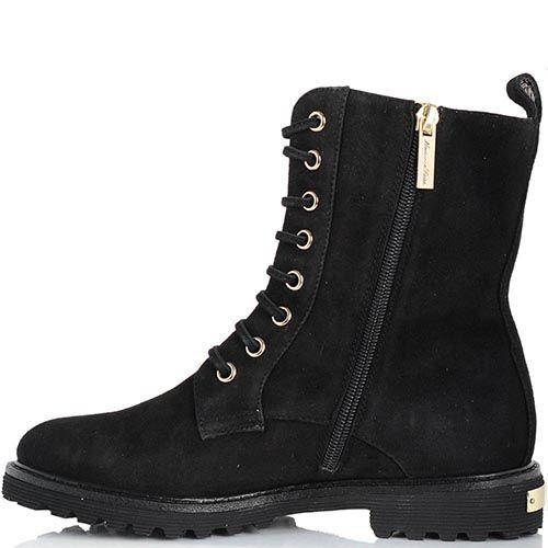 Замшевые ботинки Giorgio Fabiani на шнуровке, фото