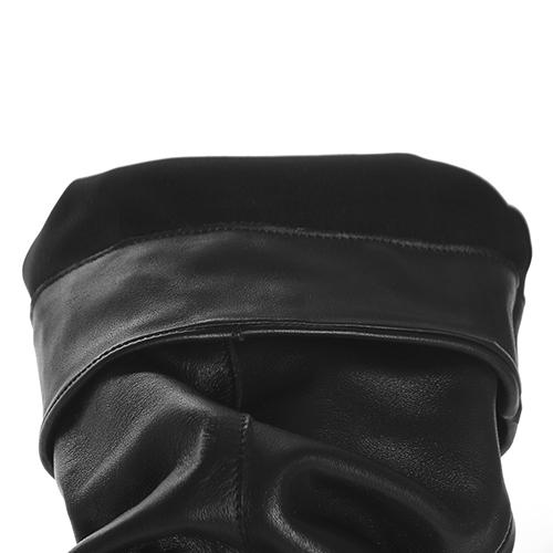 Черные сапоги Ovye by Cristina Lucchi с острым носочком, фото