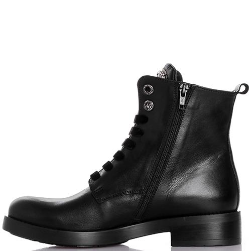 Ботинки Tosca Blu с бархатными шнурками, фото