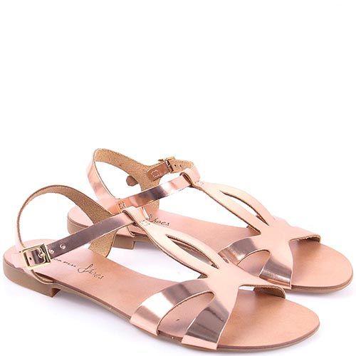 Сандалии Tosca Blu розовый металлик, фото