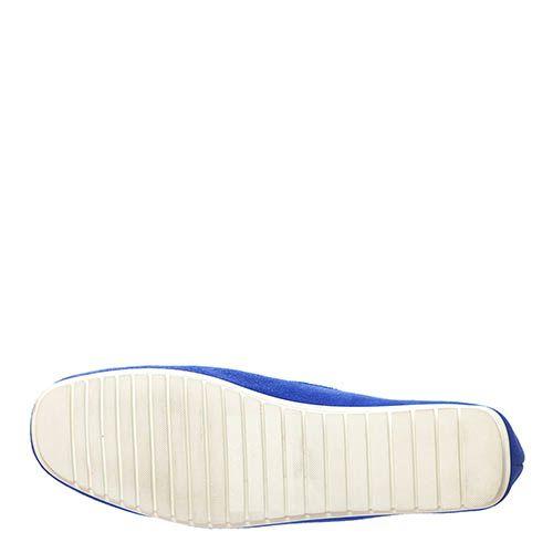 Замшевые лоферы Marino Fabiani синего цвета, фото
