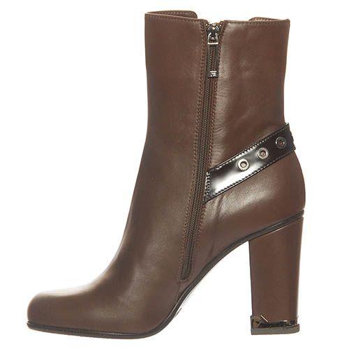 Ботинки Marino Fabiani из натуральной кожи коричневого цвета, фото