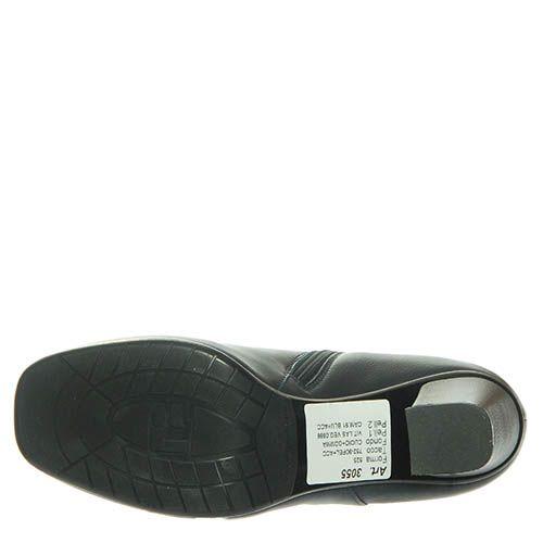 Ботинки Marino Fabiani из кожи темно-синие, фото