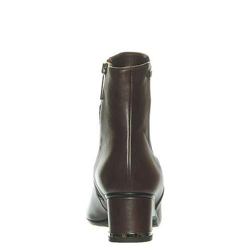 Ботинки Marino Fabiani из кожи цвета баклажана, фото