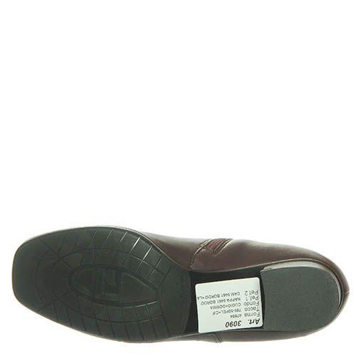 Ботинки Marino Fabiani из натуральной кожи цвета баклажана, фото