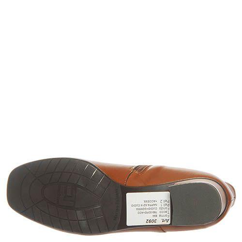 Ботинки Marino Fabiani из кожи горчичного цвета, фото