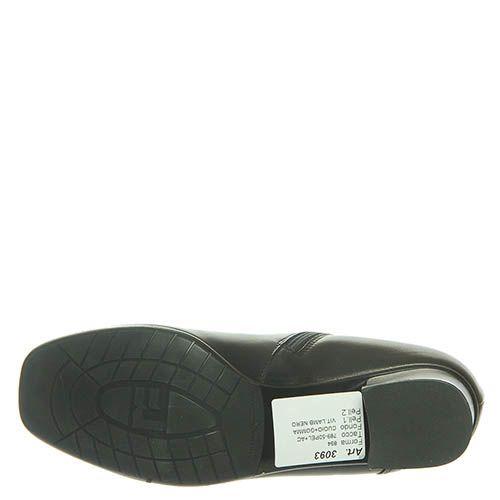 Кожаные ботинки Marino Fabiani черного цвета, фото