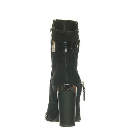 Замшевые ботинки Marino Fabiani черного цвета, фото