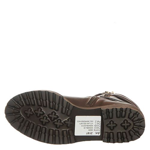 Кожаные ботинки Marino Fabiani коричневого цвета, фото