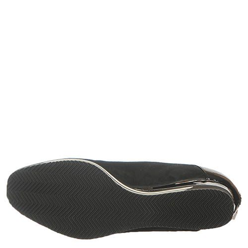 Ботинки Marino Fabiani из кожи черного цвета на танкетке, фото
