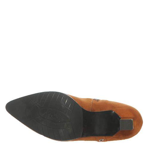Замшевые демисезонные ботинки Marino Fabiani горчичного цвета, фото